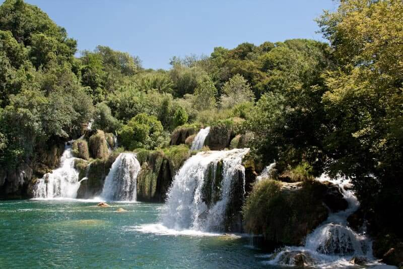 Krka sala, Kroatija