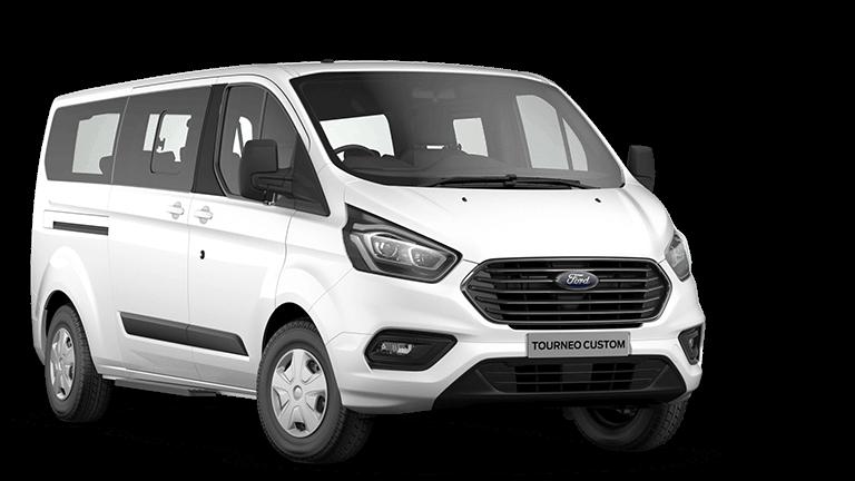 Ford Tourneo Custom mikroautobusas nuomai