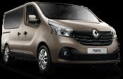Mikroautobuso Renault Trafic kainos