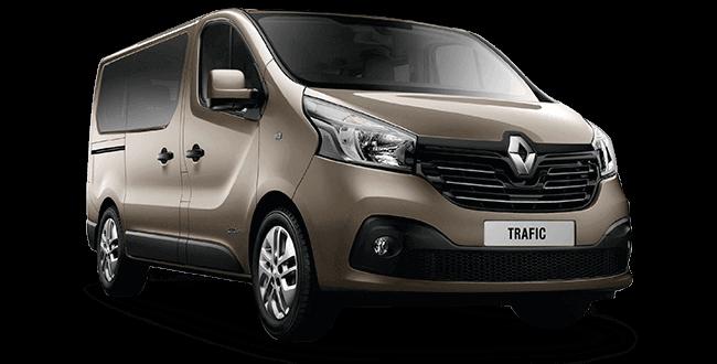 Mikroautobusas nuomai Renault Trafic