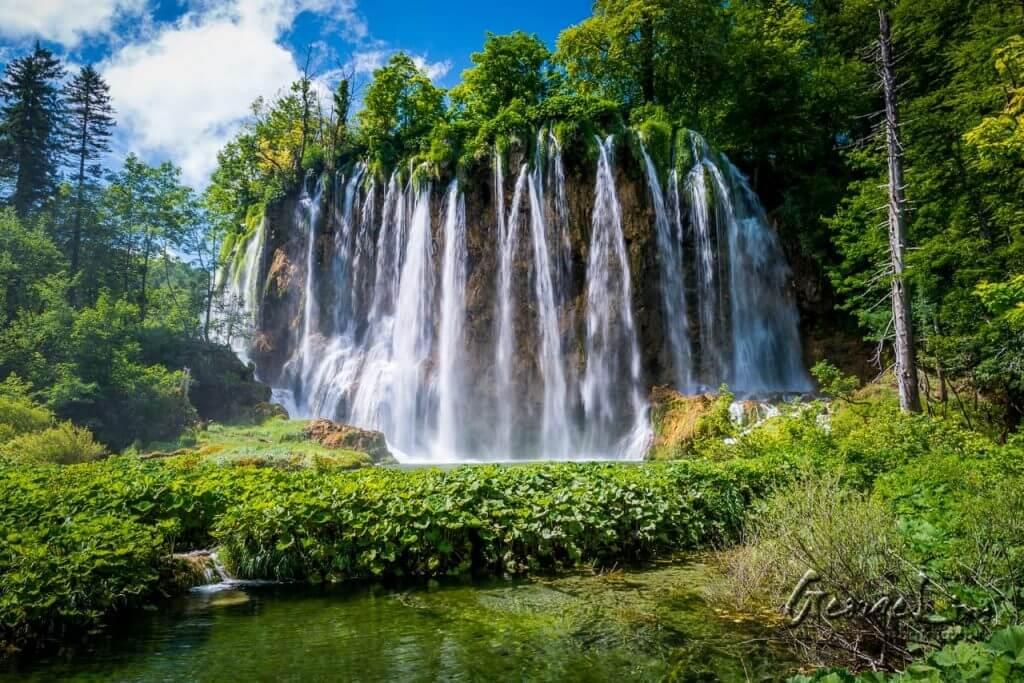 Plitvicos ežerai Kroatijoje