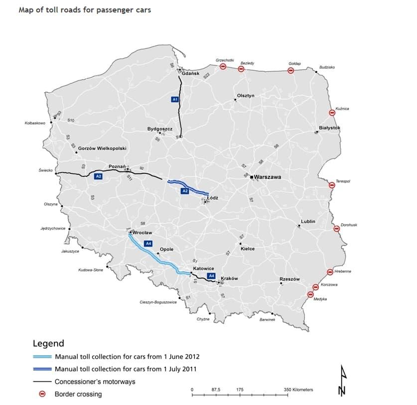 Kelių mokesčiai Lenkijoje