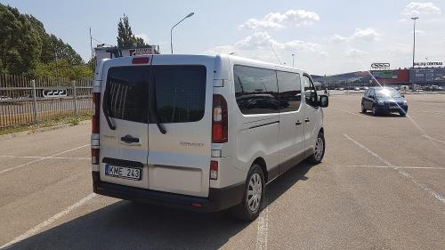 Nuomojamas Mikroautonusas Renault Trafic 2018 is galo