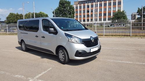 Nuomojamas Mikroautonusas Renault Trafic 2018 is priekio2