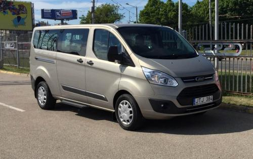 Ford Tourneo Custom 2017 išorė