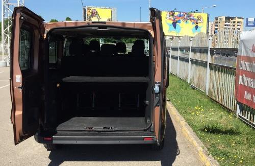 Nuomojamo mikroautonuso renault trafic bagazine